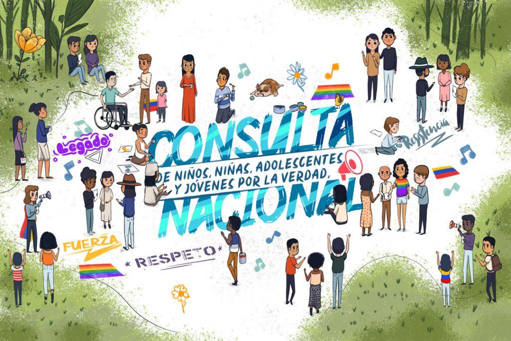 CONSULTA NACIONAL DE NIÑOS, NIÑAS, ADOLESCENTES Y JÓVENES POR LA VERDAD